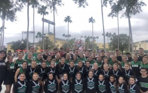 """Azle Cheer competed at """"The Most Magical Place on Earth"""""""