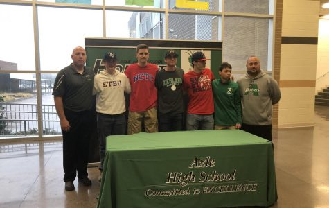 AHS Athletes Commit to College Athletics