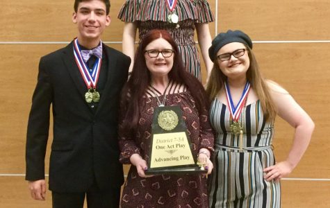 One-Act Play Team Finishes Off the Season Strong