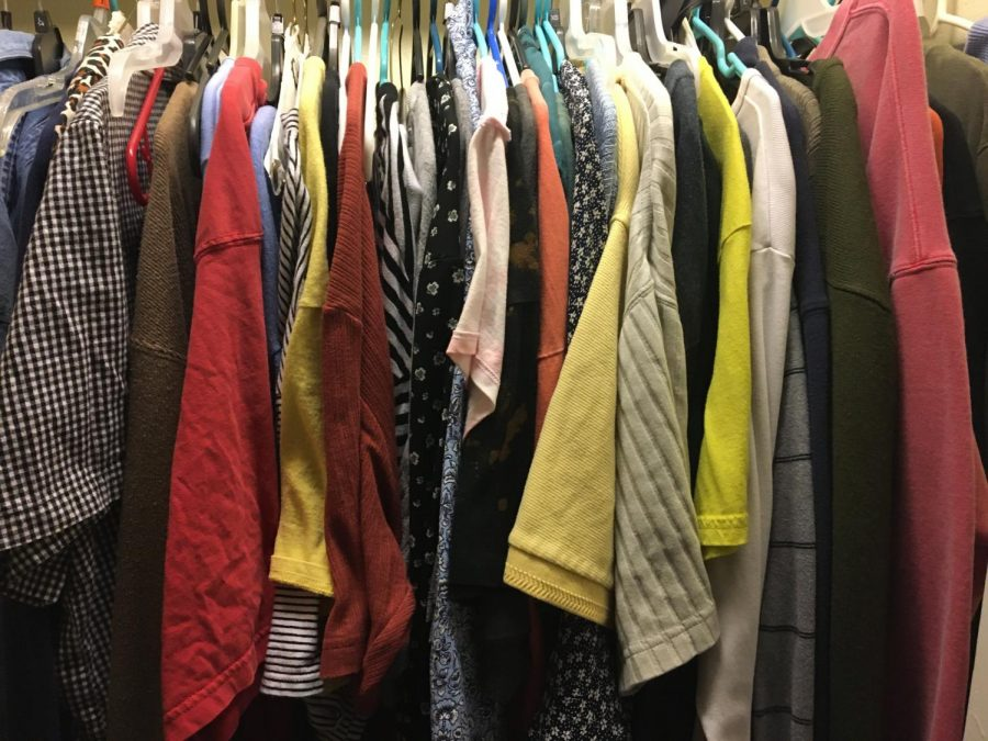 This is my closet.