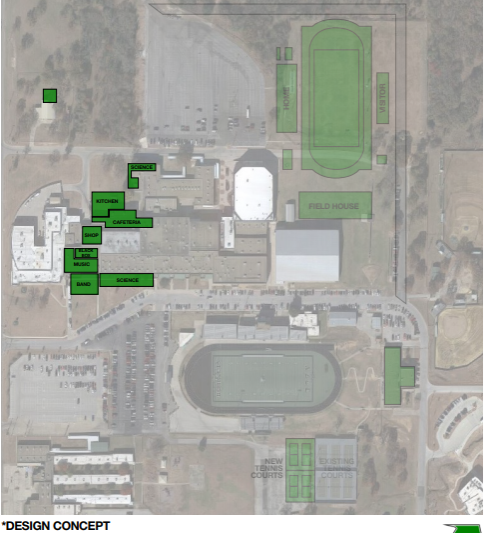If the bond is passed, this will be the school's layout. Photo courtesy of azleisd.net