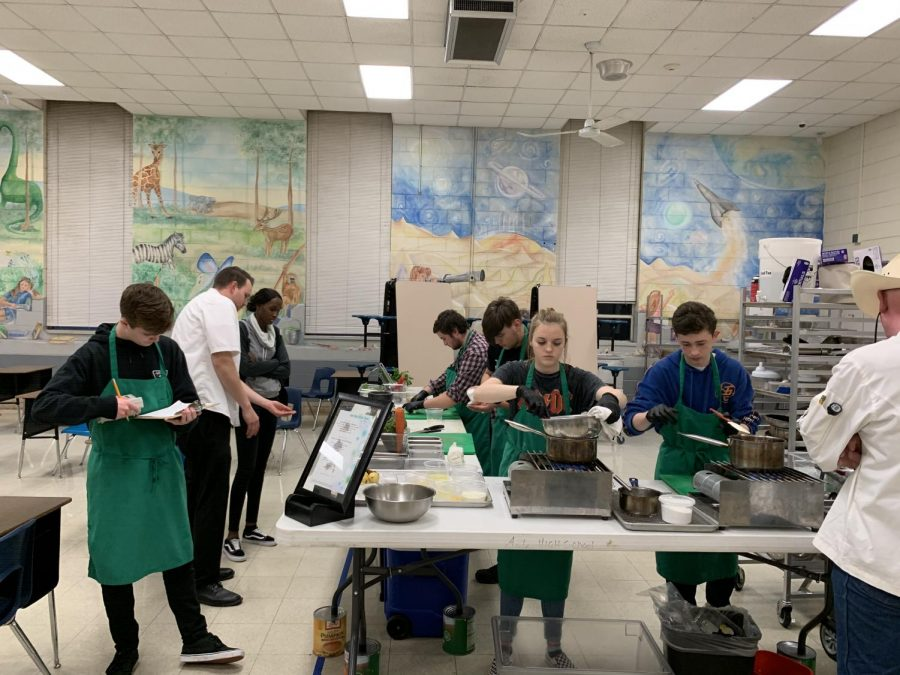 Student chefs prepare for ProStart competition