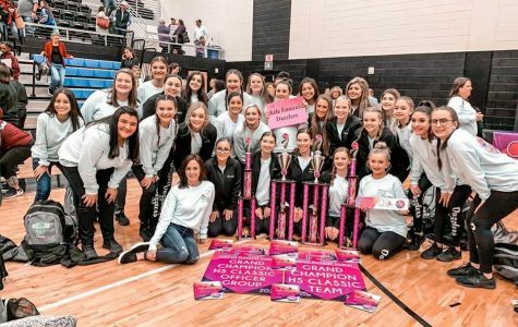 Dazzlers Grand Champion at Crowd Pleasers Competition