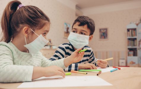 Masks are mandated across schools in America.