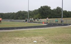 Cross country at the forte jr. high meet.