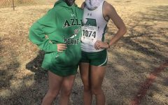 Emily Cole (Left) and Leah North (Right) after qualifying for state