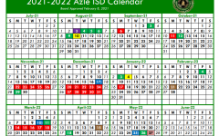 Azle ISD Calender 2021-2022