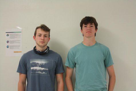 Holt Lee and Joshua Leonard national merit finalist