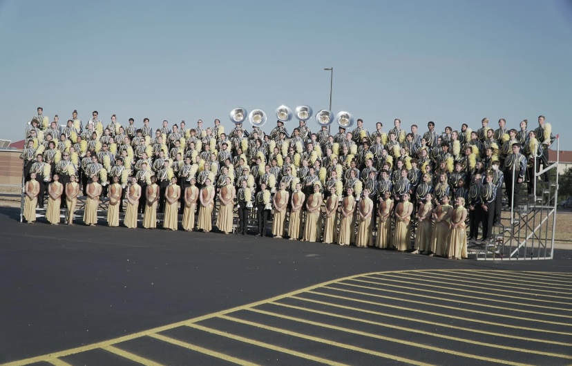 The Marching Green Pride makes History