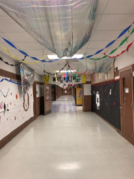 Senior Hallway for Hoco 2021